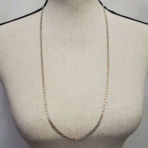 """Silver Chain 30"""" 926 Italy DNT Necklace"""